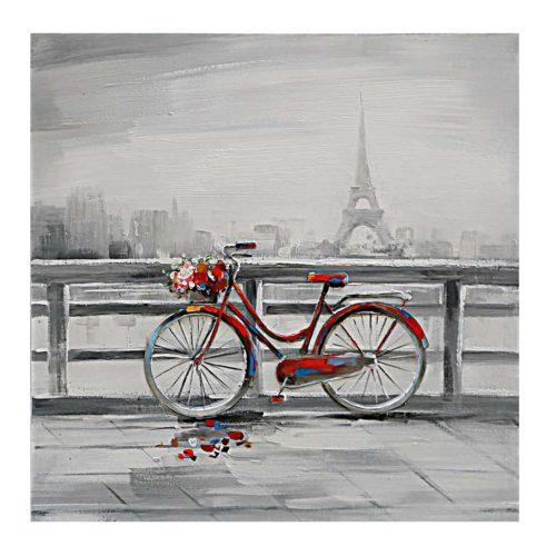 Cykel i Paris maleri